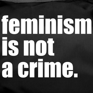 feminism is not a crime - Sporttasche