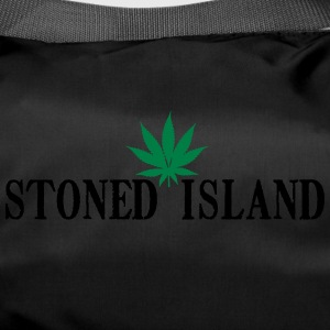STONED ISLAND WEED SHIRT - Duffel Bag