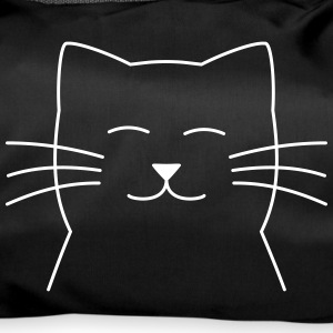 cat face - Duffel Bag