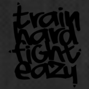 """Train Hard Fight Easy"" Fitness Collection - Sporttas"