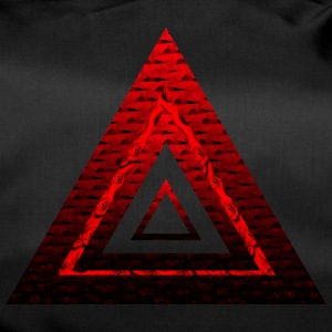 Red Ruby Rose Pyramid - Sportstaske