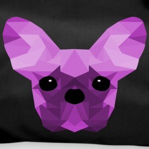 French Bulldog lilla Low Poly design - Borsa sportiva