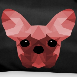 French Bulldog rosso Low Poly design - Borsa sportiva