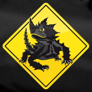 Australien Road Sign Thorny Devil - Sportstaske