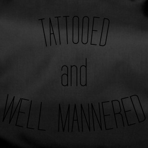 Tattoued and well mannered - Duffel Bag