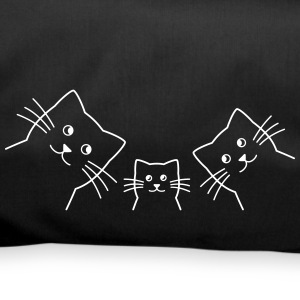 Cat family cats - Duffel Bag