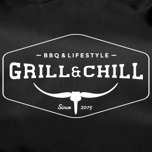 BBQ and Chill / BBQ and Lifestyle logo 1 - Duffel Bag