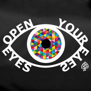 Shapes - Open Your Eyes White - Duffel Bag