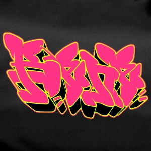 "Graffiti name ""Rene"" with Fill-in AllroundDesigns - Duffel Bag"