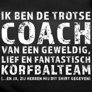 Proud Coach Korfbalteam - Sporttasche