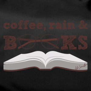 Coffee, rain & books - Duffel Bag