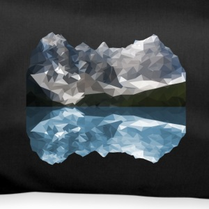 Mountains Low Poly - Duffel Bag