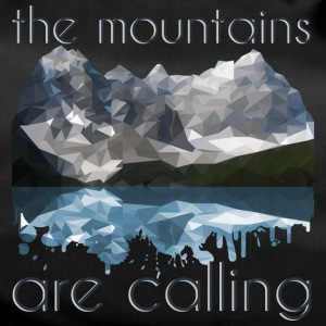 the mountains are calling - Duffel Bag
