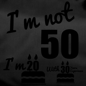 I'm not 50 birthday, 50th birthday - Duffel Bag