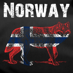 Nation-Design Norway Wolf - Sporttasche