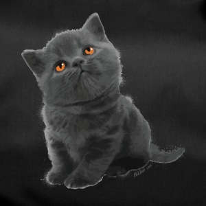 The British Shorthair - Cute Kitten - Sac de sport