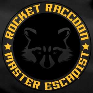 Rocket raccoon logo full - Sac de sport