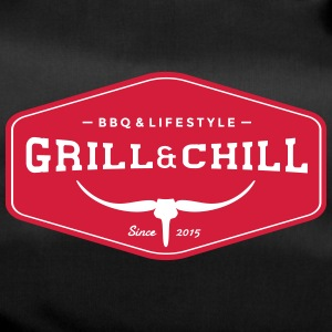 BBQ and Chill / BBQ and Lifestyle Origin Logo - Duffel Bag