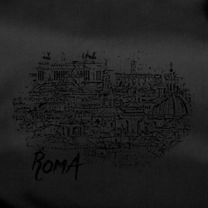 Roma / Rome motif with city sketch - Duffel Bag