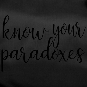 Know your paradoxes - Duffel Bag