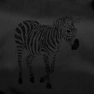 Zebra Zentangle - Bolsa de deporte