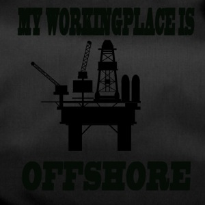MY WORKINGPLACE IS OFFSHORE - Duffel Bag