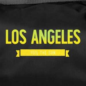 Typografi LOS ANGELES FEEL THE SUN - Sportsbag