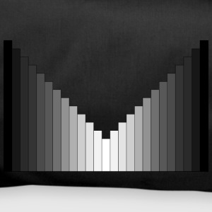 black-white-black symmetry - Duffel Bag