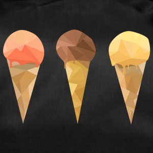Low Poly Icecream - Sac de sport
