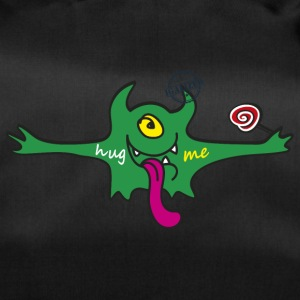 """Hug me"" Monsters Every little monster needs a hug - Sporttasche"