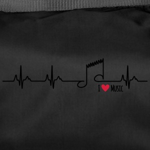 I love music - Sporttasche