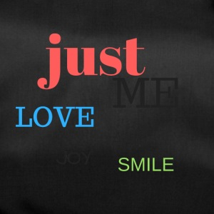 Just Me, love, joy and smile! - Duffel Bag