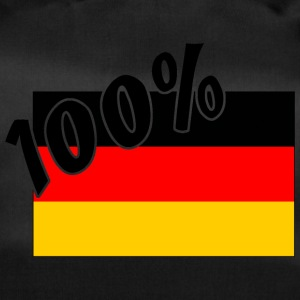 100% German Tyskland Flag - Sportstaske