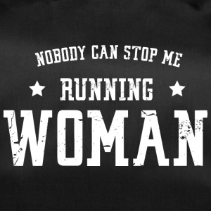 Nobody can stop me - running woman - Duffel Bag