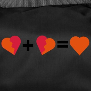 Love - Two broken hearts - Duffel Bag