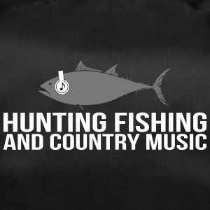 Hunting Fishing and Country Music - Sporttasche