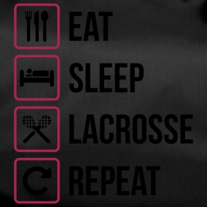 Eat Sleep Lacrosse Gjenta - Sportsbag