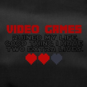 Video Games - Two Extralives - Duffel Bag