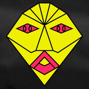 yellow mask - Duffel Bag