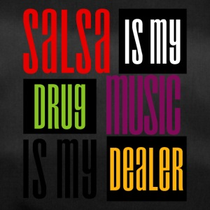 Salsa is my Drug, Music is my Dealer - DanceShirts - Sporttasche