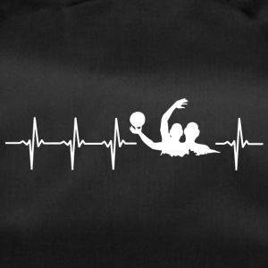 I love water polo (water polo heartbeat) - Duffel Bag