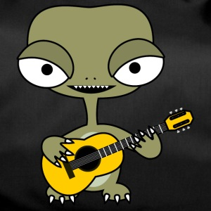 Alien with guitar - Torba sportowa