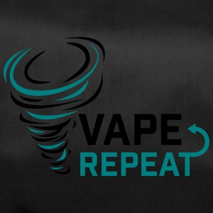 Vape and Repeat - Vaper Slogan - Sporttasche