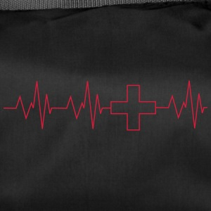Heartbeat nurse - Duffel Bag
