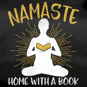 Namaste - Home with a book - Duffel Bag