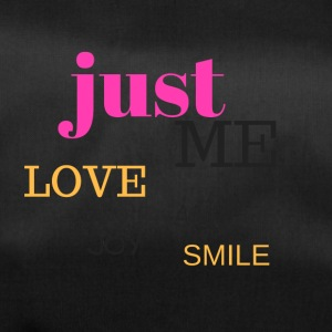 JUST ME, LOVE, JOY AND SMILE - Duffel Bag