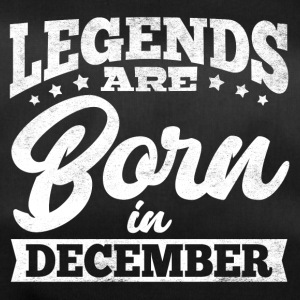 Legends Are Born In December - Duffel Bag