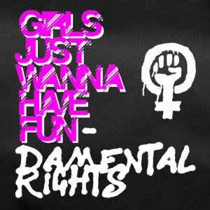 Girls just wana have fundamental rights - Bolsa de deporte