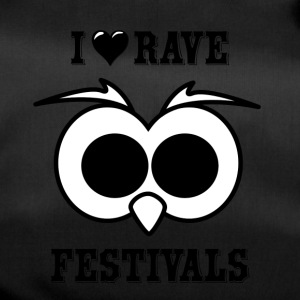 I Love Rave Festivals - Duffel Bag