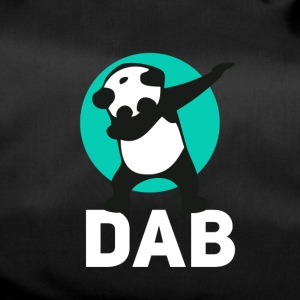 dab panda touchdown Football krass Music LOL funny - Sporttasche
